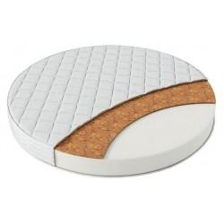 Круглый матрас PloomaBaby Ova2 кокосовая койра/холлкон 75 см