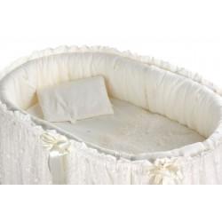 Комплект для круглой кроватки Nuovita Farfalle (9 предметов) хлопок