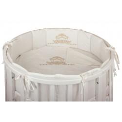 Бампер в круглую кроватку Nuovita Prestigio