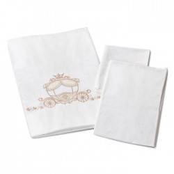 Комплект постельного белья для круглой кроватки Nuovita Prestigio (3 предмета) сатин