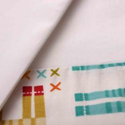 Комплект для овальной кроватки Nuovita Giraffe (6 предметов) сатин, бязь, перкаль