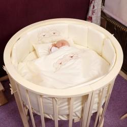 Комплект для круглой кроватки Incanto в колыбель (6 предметов)