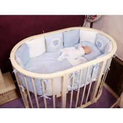 Комплект для круглой кроватки Incanto универсальный (6 предметов)