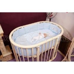 Комплект для круглой кроватки Incanto Тигрята (6 предметов)