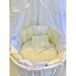Комплект для круглой и овальной кроватки Incanto Зефир (11 предметов)