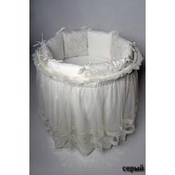 Комплект для овальной кроватки Эстель (6 предметов)
