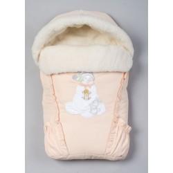 Меховой конверт для новорожденного Селена (Сдобина) Арт. 35.1