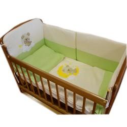 Комплект для детской кроватки Монис стиль Мишутка 6 предметов