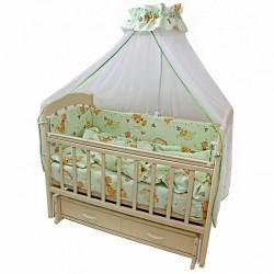 Комплект в детскую кроватку Топотушки Фантазия 7 предметов