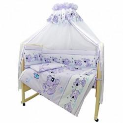 Комплект в детскую кроватку Топотушки Дружок 7 предметов