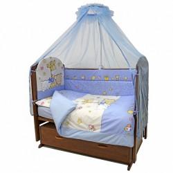 Комплект в детскую кроватку Топотушки Детский Мир 7 предметов