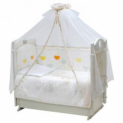 Комплект в детскую кроватку Топотушки Луна-парк 7 предметов