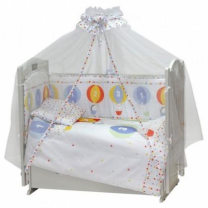 Комплект в детскую кроватку Топотушки Вокруг Света 7 предметов