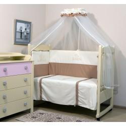 Комплект в детскую кроватку Топотушки Бамбино 7 предметов