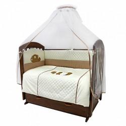 Комплект в детскую кроватку Топотушки Пушистик 7 предметов