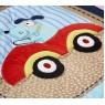 Комплект для детской кроватки из семи предметов Giovanni Transportation (серия Shapito)