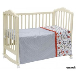 Комплект постельного белья Polini Кантри 120х60см