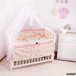 Комплект в детскую кроватку Крошкин дом Я гуляю! из 7 предметов