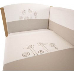 Комплект постельного белья Polini Волшебная полянка 140х70см