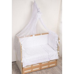 Комплект в кроватку Селена 69 Нежность из 7 предметов бязь, сатин