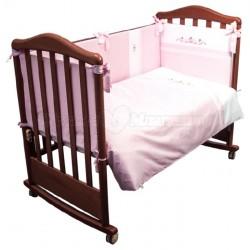 Комплект в кроватку Сонный гномик Прованс 6 предметов сатин