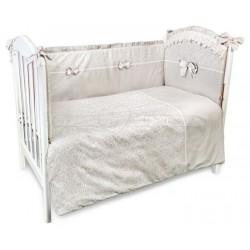 Комплект в кроватку Сонный гномик Версаль 6 предметов сатин