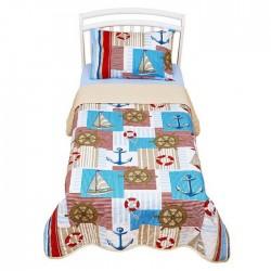 Покрывало в кровать для дошкольников Giovanni By Shapito Captain Kids Maxi
