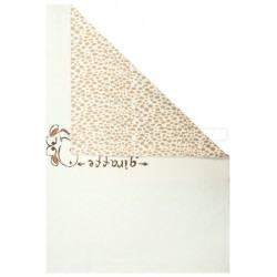 Трикотажный плед Сонный гномик Жираф