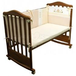 Бампер в детскую кроватку Сонный гномик Кантри