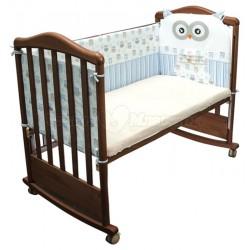 Бампер в детскую кроватку Сонный гномик Софушки