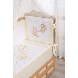 Комплект в детскую кроватку 3 предмета Селена «Цветные сны» АРТ. - 62.12