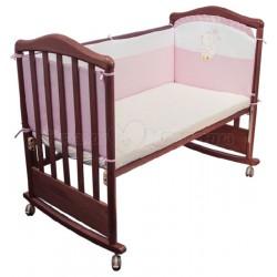 Бортик в детскую кроватку Сонный гномик Пушистик