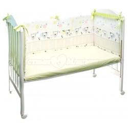 Бампер в детскую кроватку Сонный гномик Конфетти
