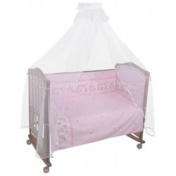 Комплект постельного белья 3 предмета Сонный гномик Оленята бязь