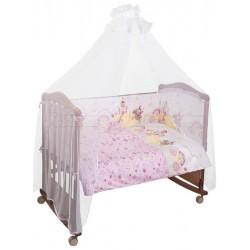 Комплект в кроватку Сонный гномик Золушка 6 предметов бязь