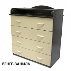 Пеленальный комод Алмаз мебель КП-1
