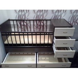Детская кровать трансформер Ведрусс Раиса