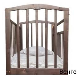 Детская кроватка Агат Золушка-1 колёса качалка