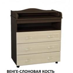 Пеленальный комод Ведрусс Мишка-3