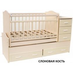 Детская кровать трансформер маятник Ведрусс Раиса
