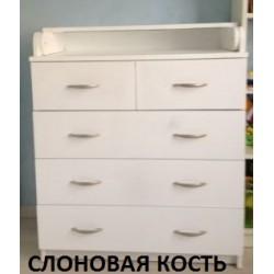 Пеленальный комод Атон 80/5