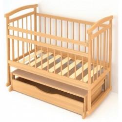 Детская кроватка Бэби Бум Алёнка-3  поперечный маятник +  качалка + закрытый ящик