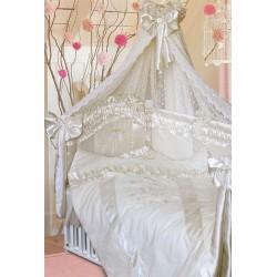 Комплект в кроватку Золотой гусь Птенчики 11 предметов