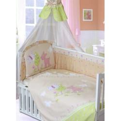 Комплект в кроватку 140*70 Золотой гусь Little Friend 8 предметов