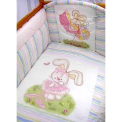 Комплект в кроватку Золотой гусь Радужный 8 предметов