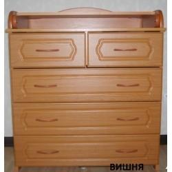 Пеленальный комод Алмаз мебель КП-2 5 ящиков