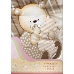 Комплект постельного белья Золотой гусь Мишутка 3 предмета