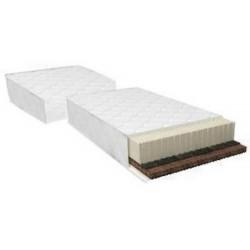 Двухсторонний 2-ой матрац для кроватки трансформера с маятником