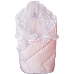 Конверт-одеяло с вуалью Little People сатин-жаккард