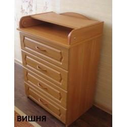 Пеленальный комод Алмаз мебель КП-2/60